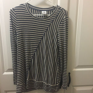 CAbi Ernest Tee Long Sleeve Top Sz S